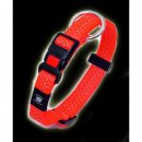 Art Sportiv Plus Reflex Halsband 40-55 cm x 20 mm neonorange