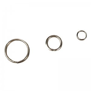 Snap ring, singly