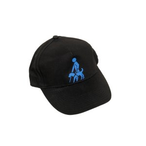 Base-Cap mit Aufdruck