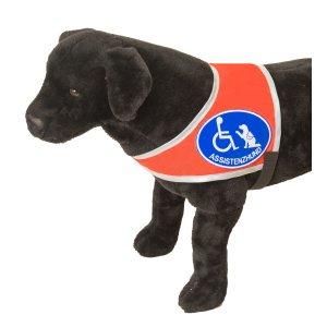 "Kenndecke ""Assistenzhund"", Symbol ""Rolli & Hund"""