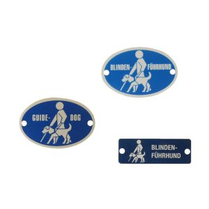 Badge Blindenführhund