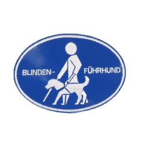 """Aufnäher """"Blindenführhund"""""""