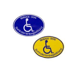 """Patches """"Behinderten-Begleithund"""""""