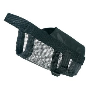 Muzzles with net insert, Nylon