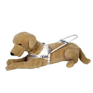 """Guide Dog Harness """"Arnstadt"""", double leather"""
