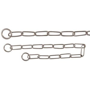 Long Link Choke Chains, Stainless Steel